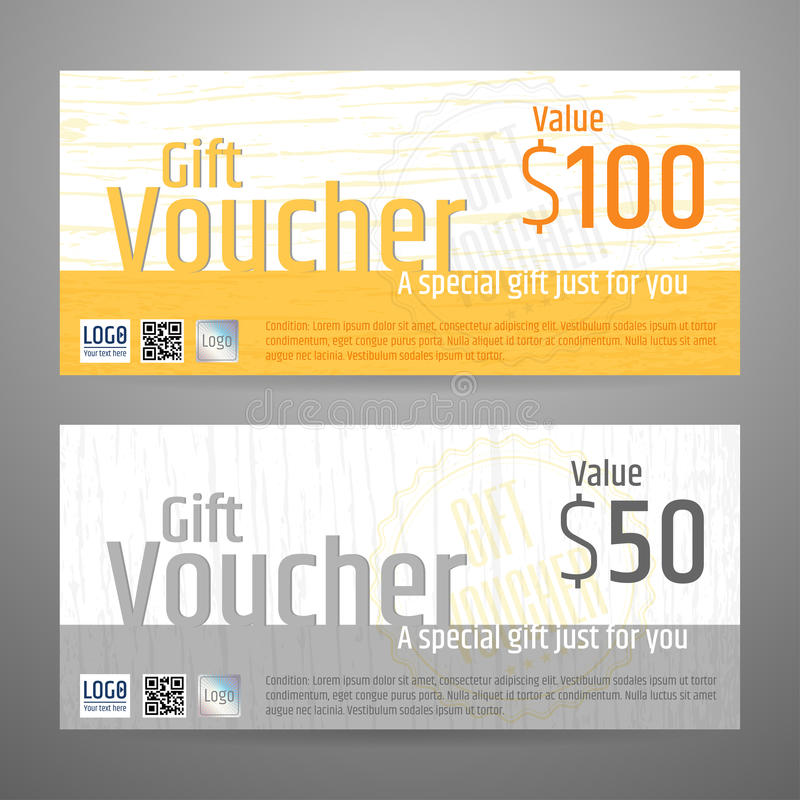 Free Gift Certificate, Voucher, Coupon Template In Vector Stock Photo - 71953030