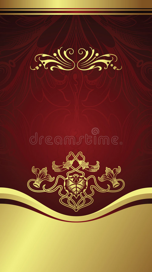 Download Gift coupon stock vector. Image of cover, background, elegance - 8852965