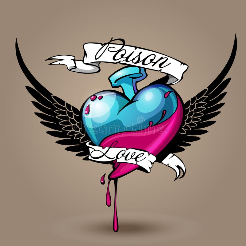 Gift der Liebe vektor abbildung