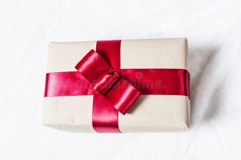 Gift in doos stock fotografie