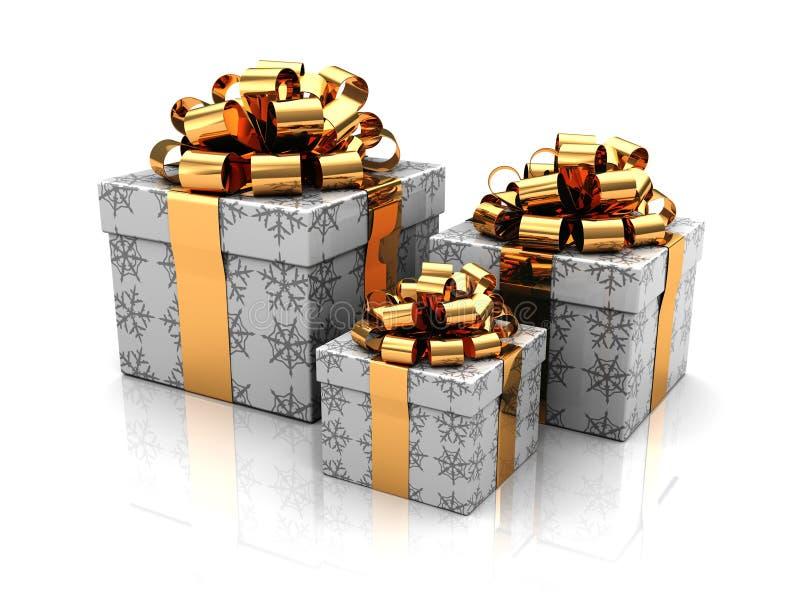 Gift drie stock illustratie