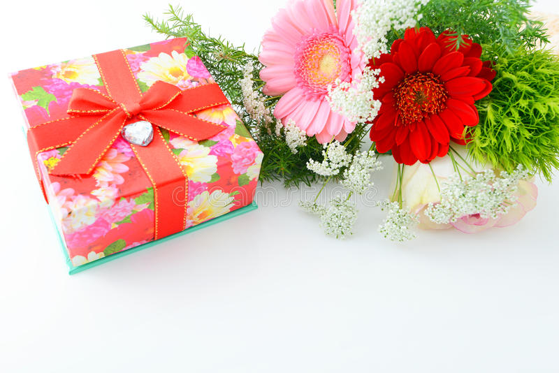 Download Gift and flower stock photo. Image of rejoice, gift, valentine - 37444676