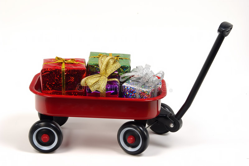 Gift Giving stock image