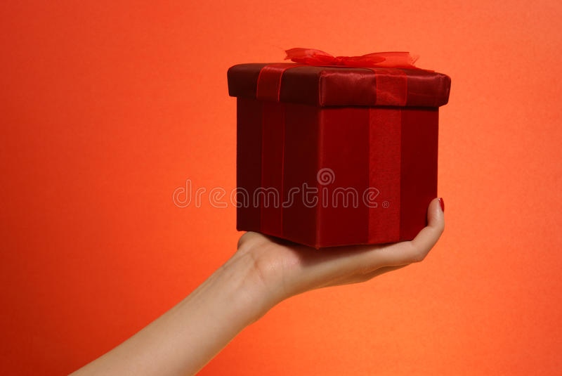 Gift Giving royalty free stock images