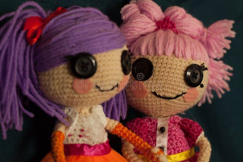 Handmade doll royalty free stock photography