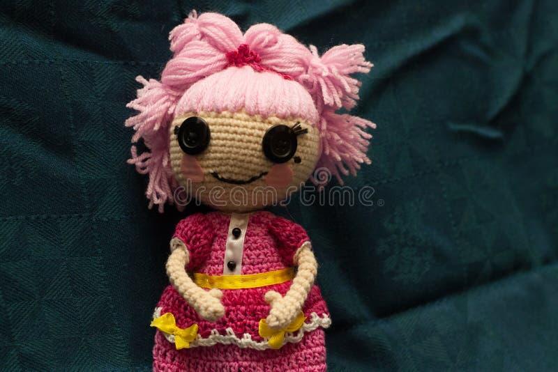 Handmade doll stock photos
