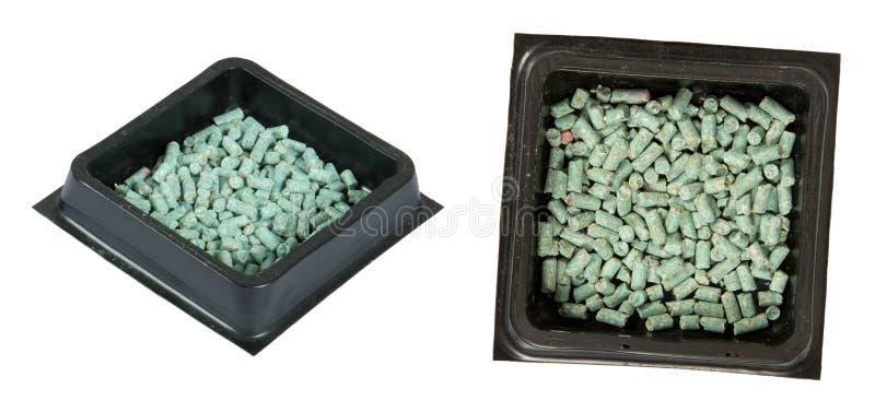 Gift-Köder für eine Maus, eine Ratte oder ein Nagetier, getrennt lizenzfreies stockfoto
