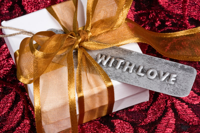 Download Gift With Love stock photo. Image of anniversary, romantic - 7757748