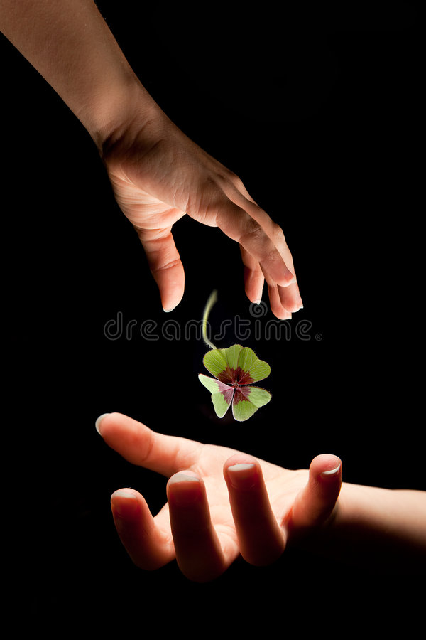 Download Gift of luck stock image. Image of dark, luck, future - 9183243