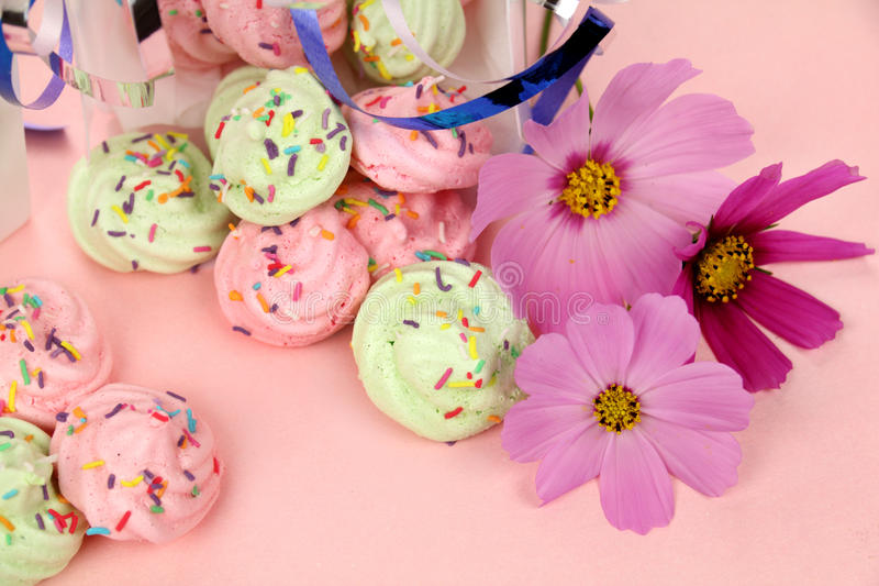 Download Gift Meringues Stock Photo - Image: 25686840