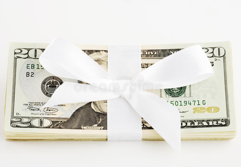 Download Gift Of Money Royalty Free Stock Photo - Image: 13944785