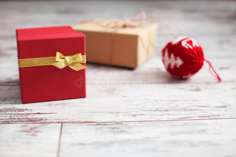 Decoration on chrismas stock photos