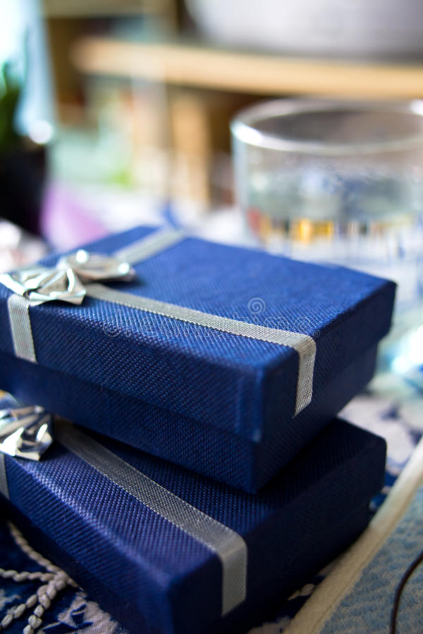 Download Gift packages stock image. Image of silver, ribbon, holiday - 25542189