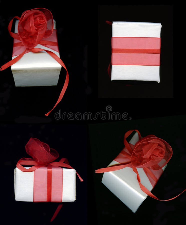 Gift Packaging Stock Photo