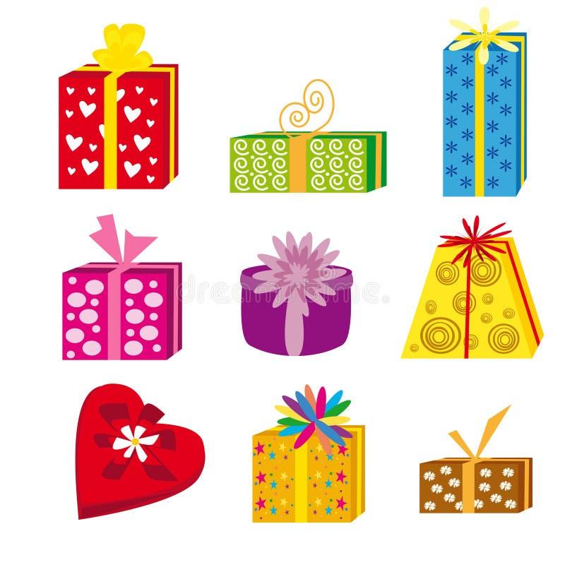 Gift packs stock images