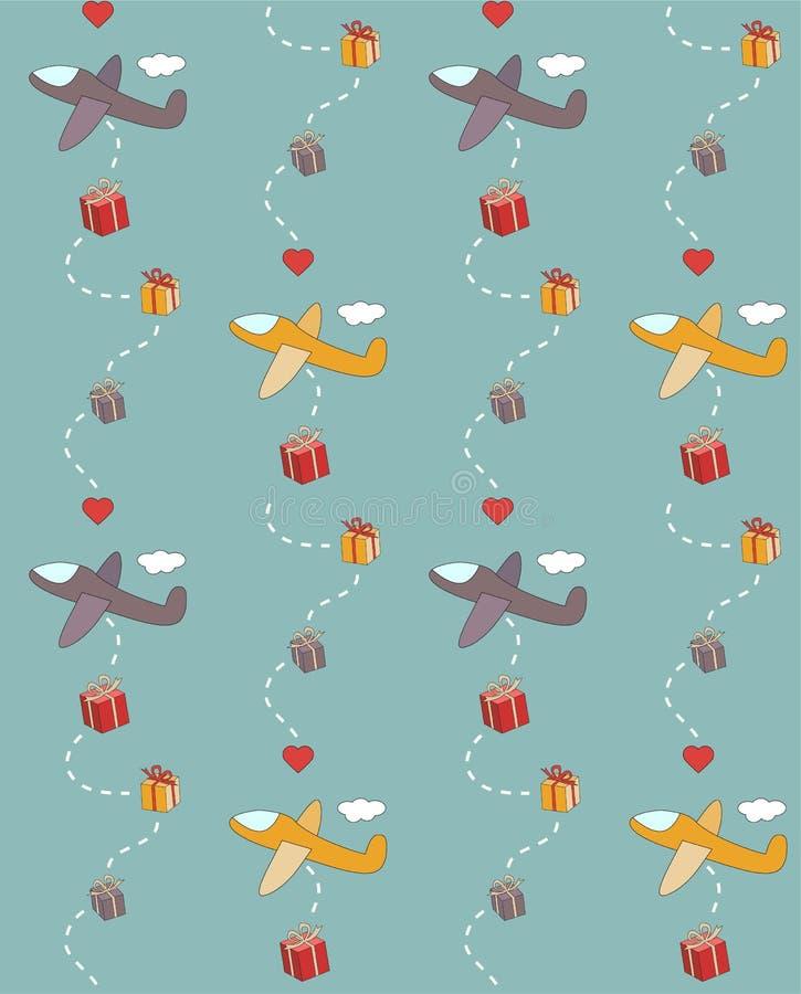 Gift Packs royalty free illustration