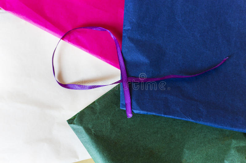 Gift papper stock foto's
