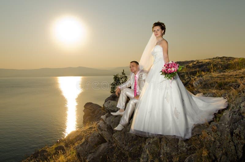 Gift par arkivbild