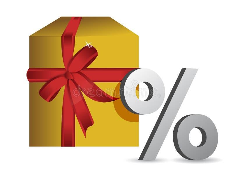 Download Gift Percentage Illustration Stock Illustration - Image: 27463386