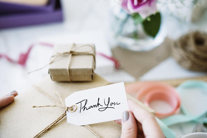 Gift Present Box Greeting Celebration Concept royalty free stock images