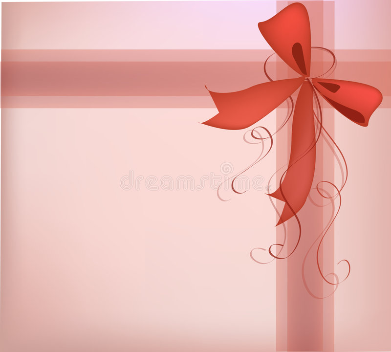 Gift present ribbon stock images