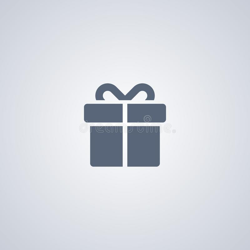 Gift, present, vector best flat icon vector illustration