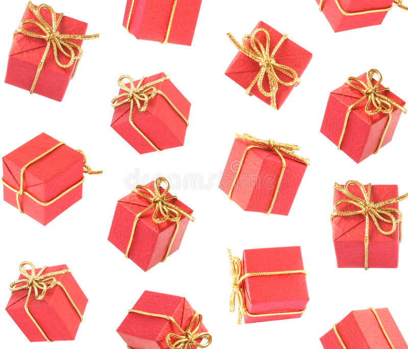 Gift Raining royalty free stock photography