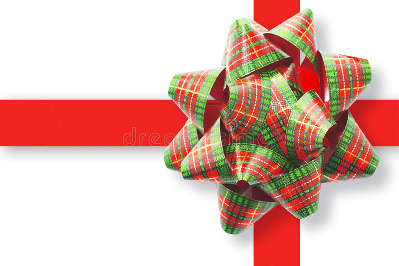 Gift Ribbon and Bow stock images