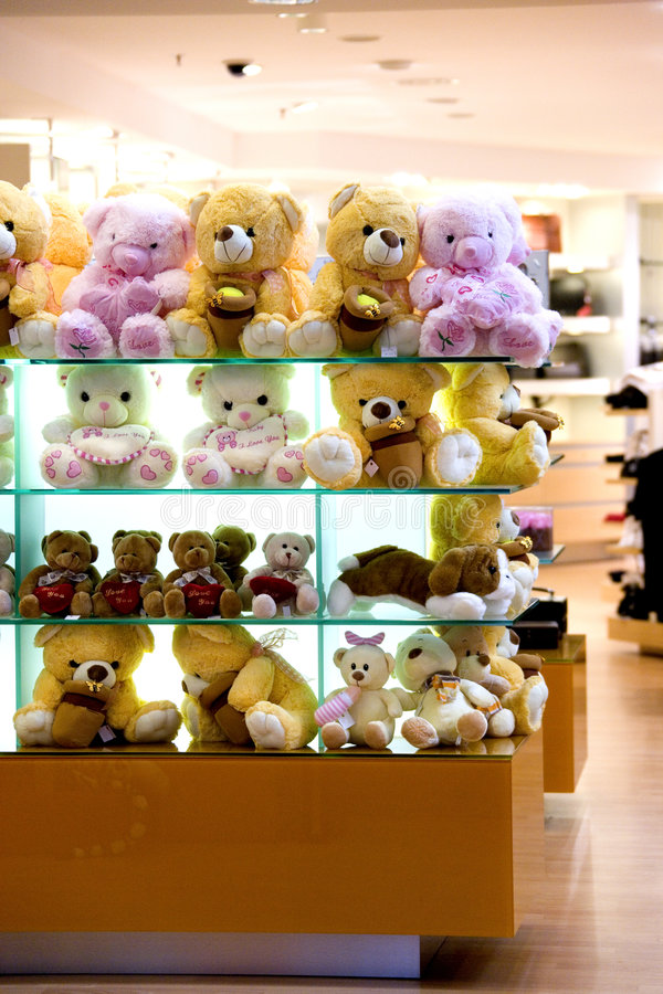 Download Gift Shop stock photo. Image of bear, display, store, business - 5249168