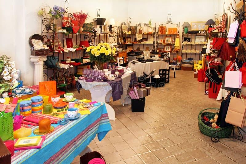 Gift shop stock image