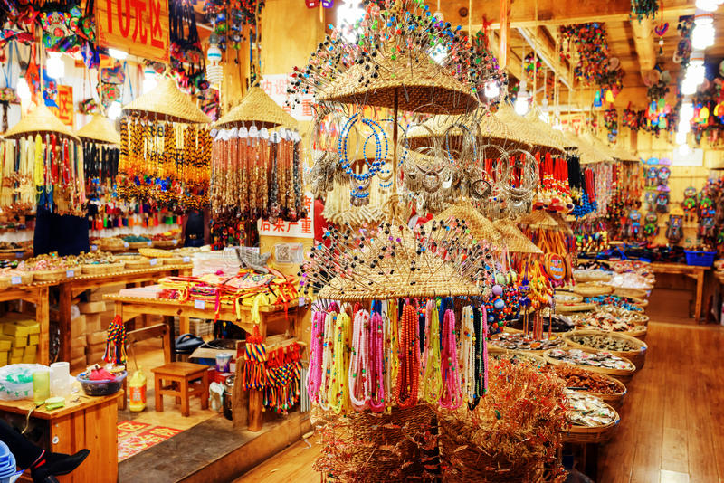 Gift shop in lijiang offers wide range of souvenirs china for Shopping in cina