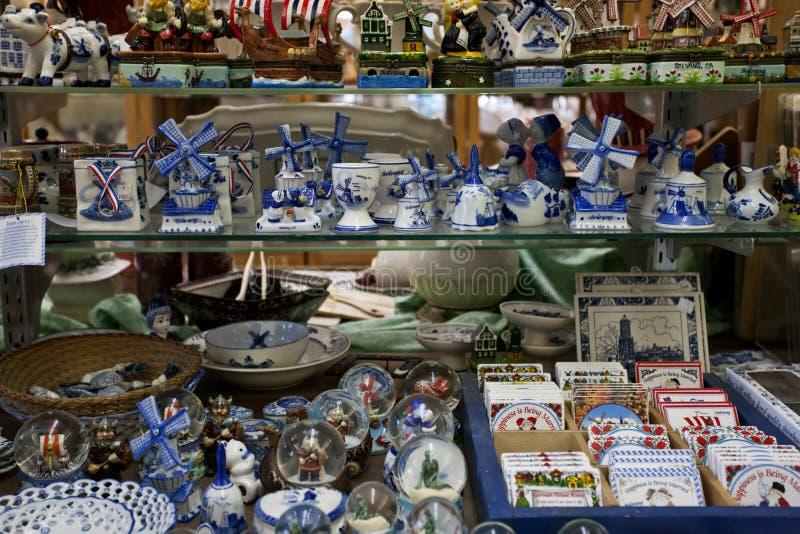 Gift shop, Solvang, California stock photography