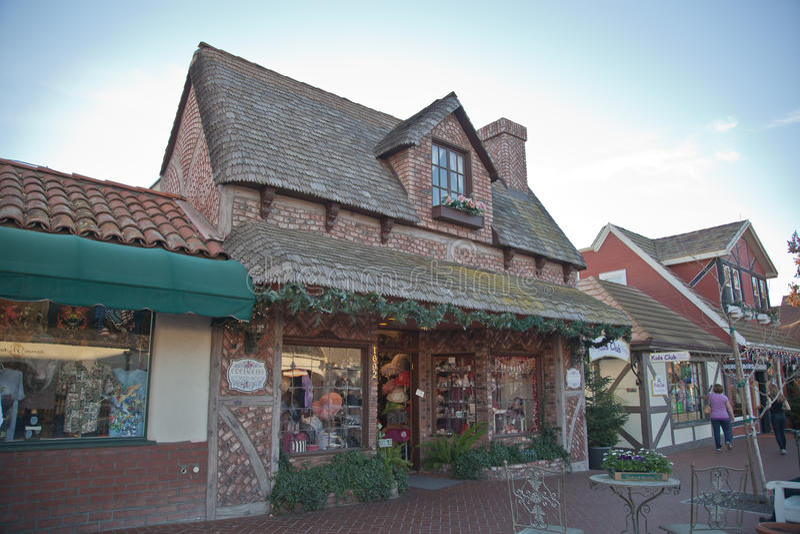 Gift shop, Solvang, California stock images