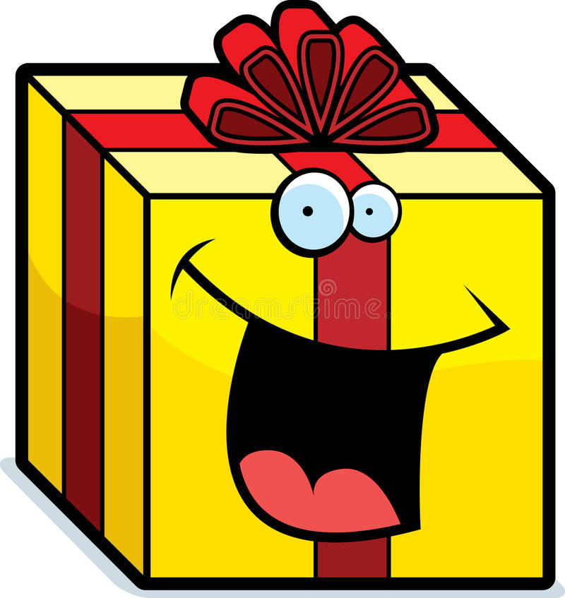 Download Gift Smiling stock vector. Image of gift, vctor, wrapped - 10630521