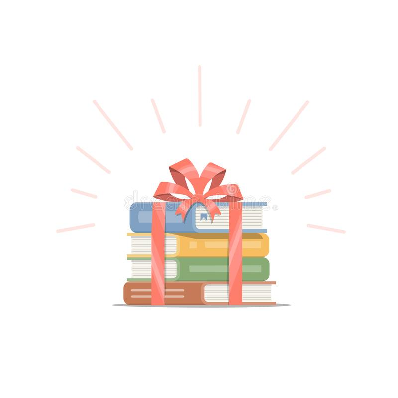 Stack Books Gift Bow Stock Illustrations – 29 Stack Books Gift Bow Stock  Illustrations, Vectors & Clipart - Dreamstime