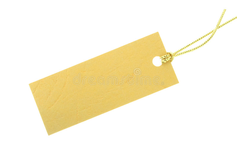 Gift tag royalty free stock image