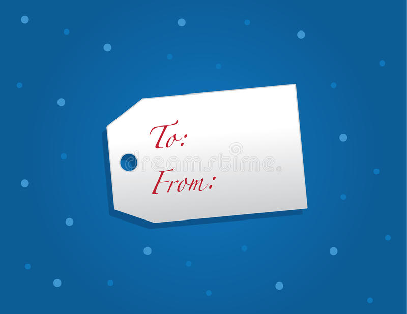 Download Gift Tag Snow Royalty Free Stock Photos - Image: 28081268