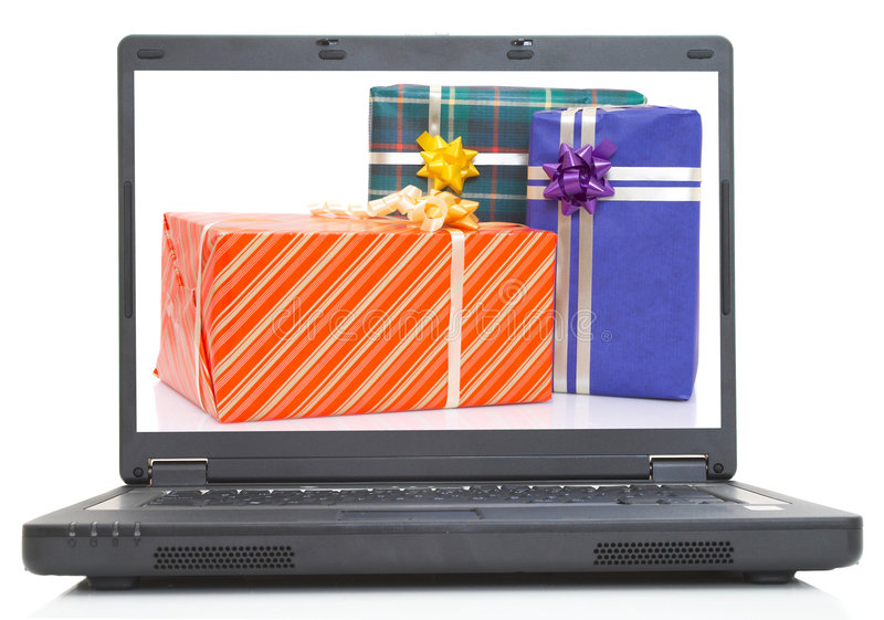 Gift time stock images