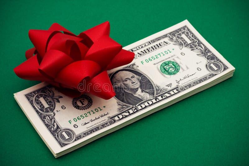 Gift van Geld stock afbeelding