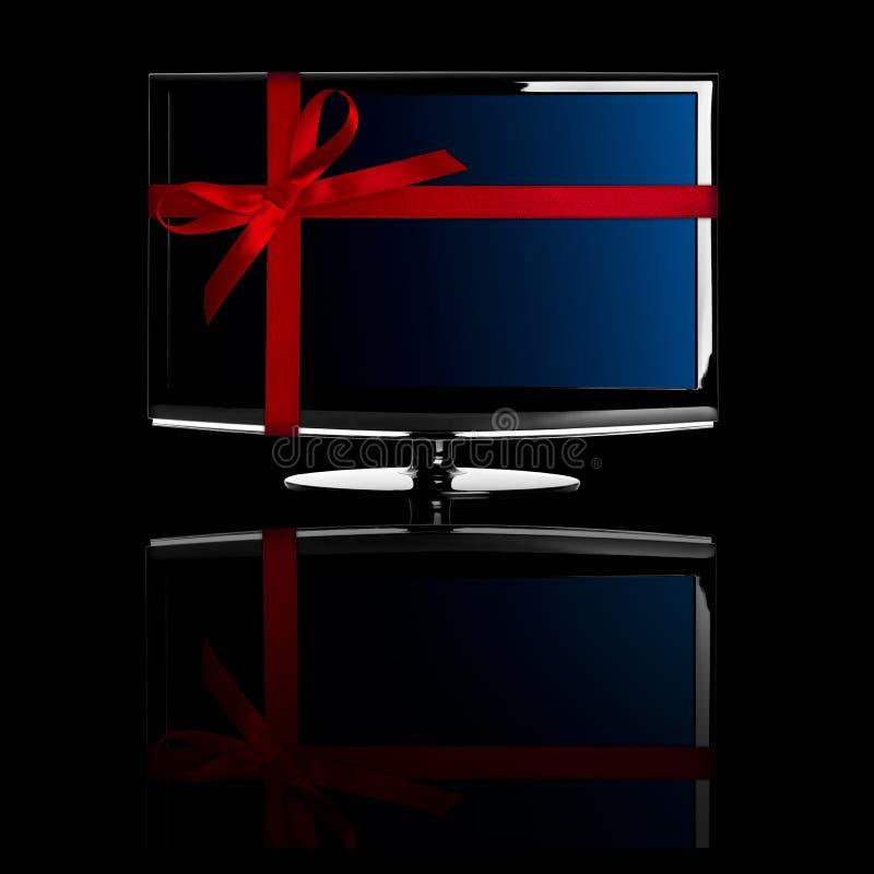 Gift voor Kerstmis stock foto's