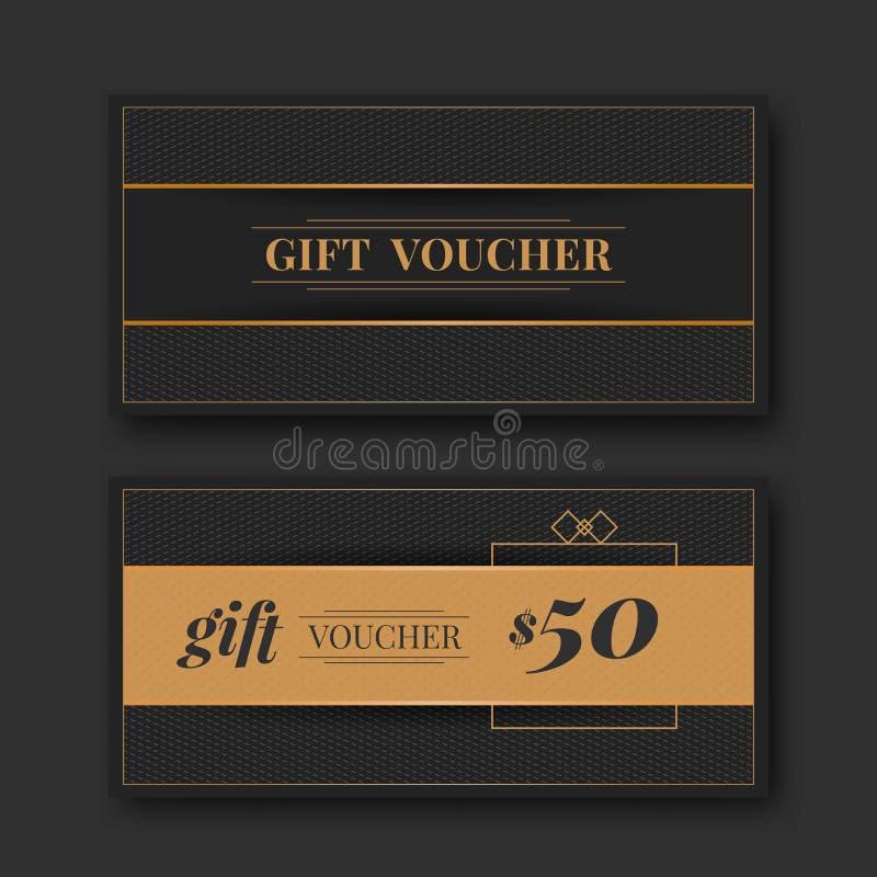 Gift voucher template stock vector. Illustration of card - 61279112