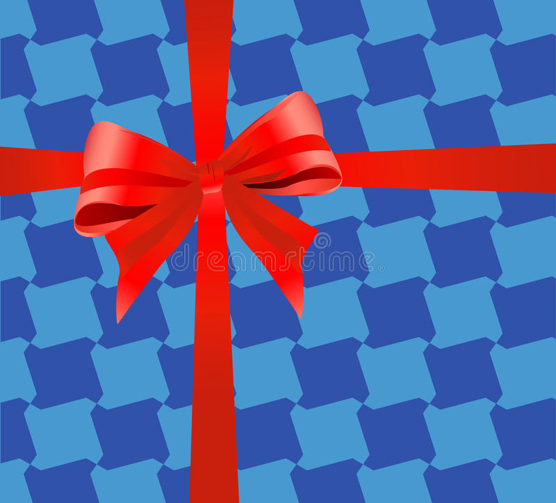 Download Gift wrapping ribbon stock vector. Illustration of vector - 20707178