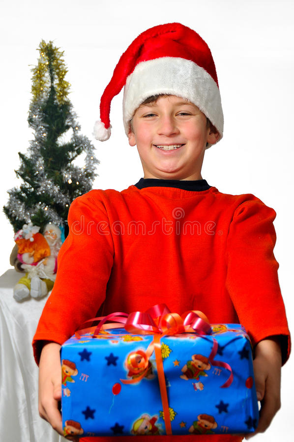 A Gift For You Stock Photo
