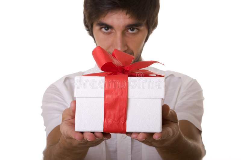 A Gift for you! stock photography