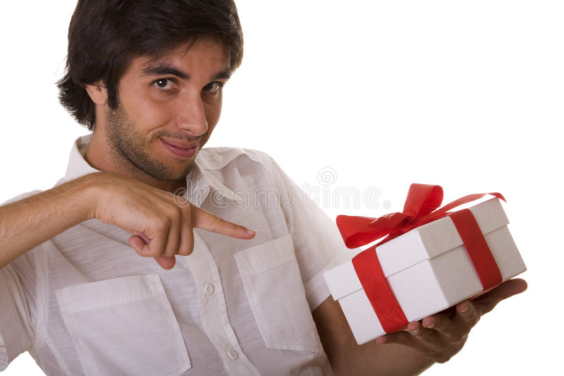 Gift for you! royalty free stock image