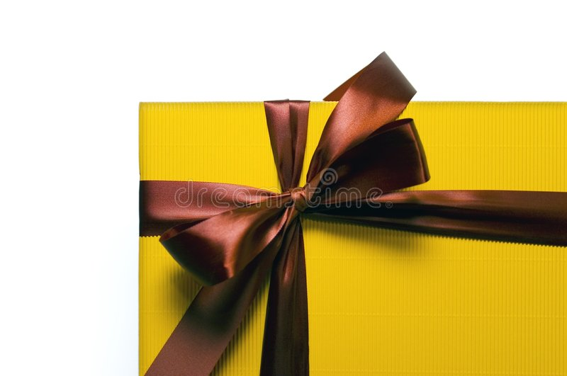 A gift for you royalty free stock images
