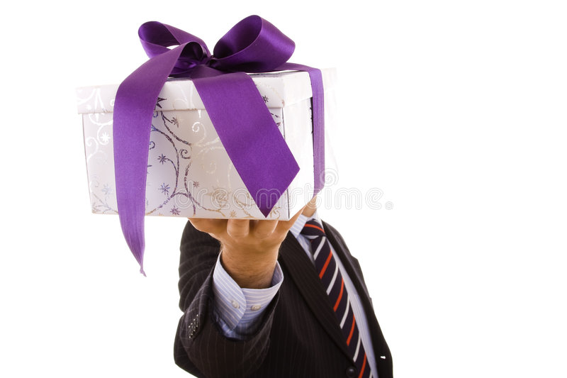 A gift for you stock photography