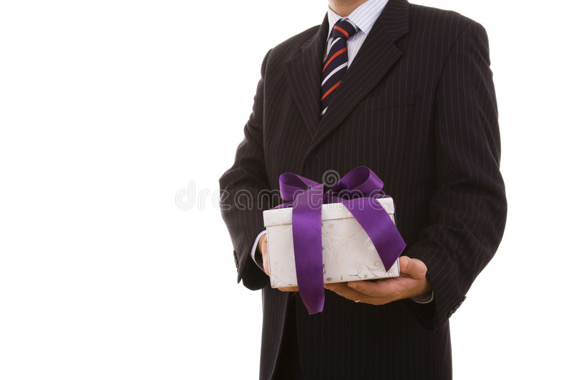 Gift for you stock images