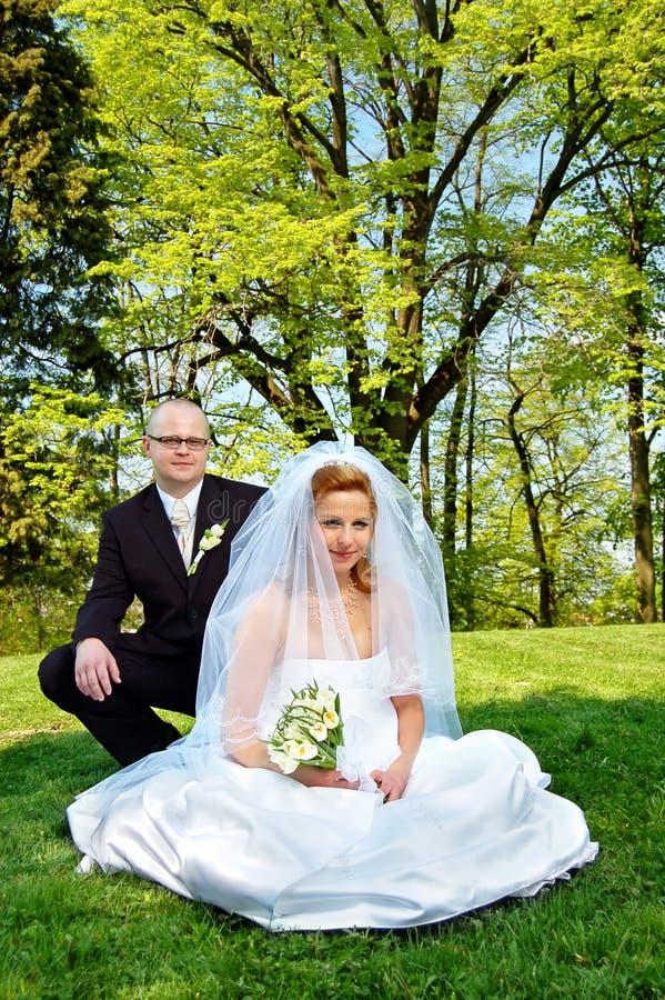 Gifta sig royaltyfri fotografi