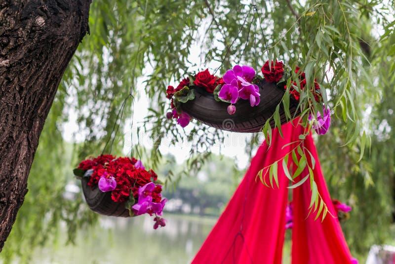 Gifta sig blomman arkivbilder